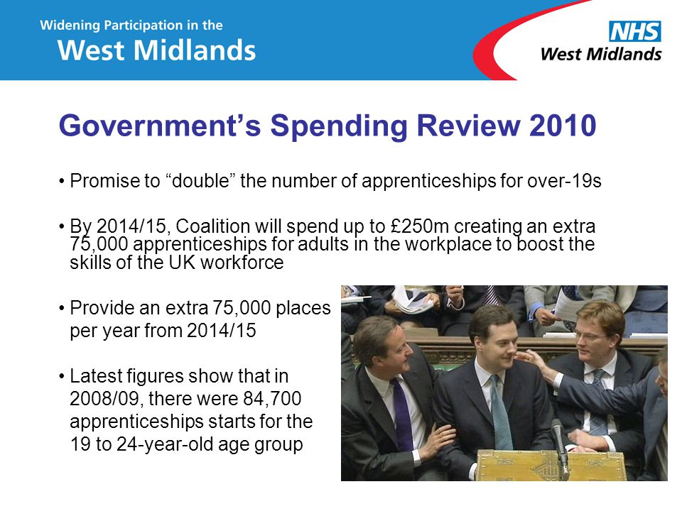 Government's Spending Review 2010