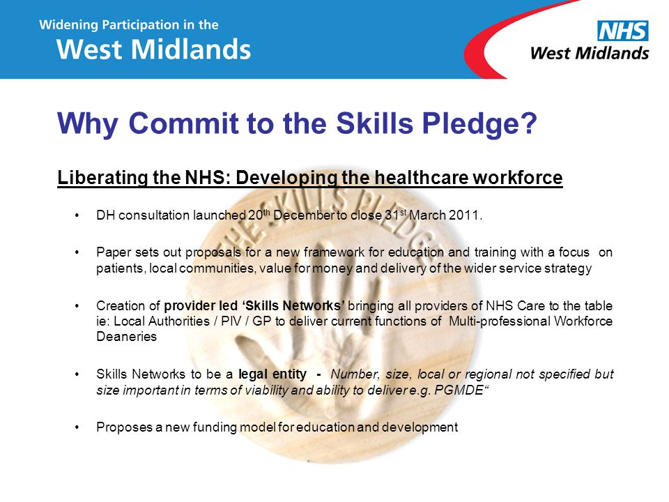 Why Commit to the Skills Pledge