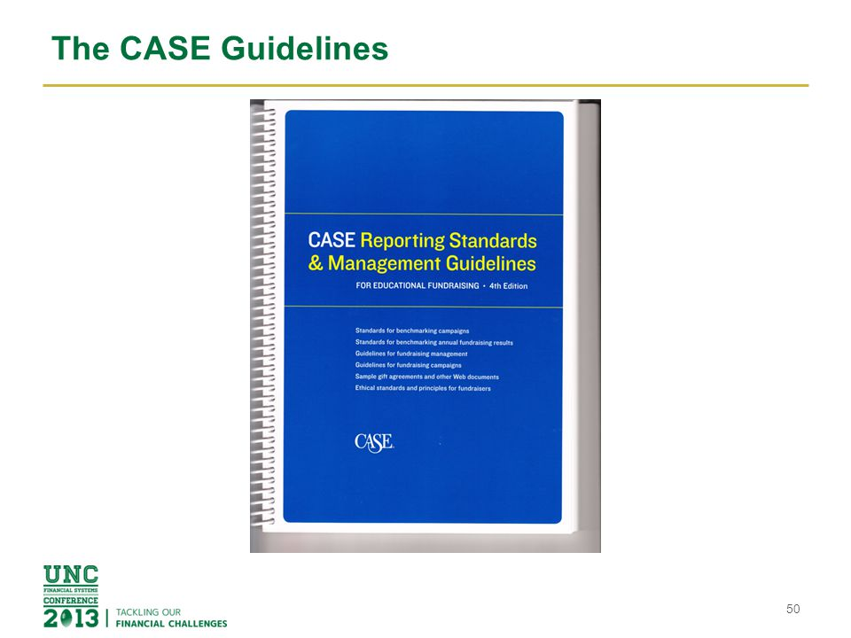 The CASE Guidelines