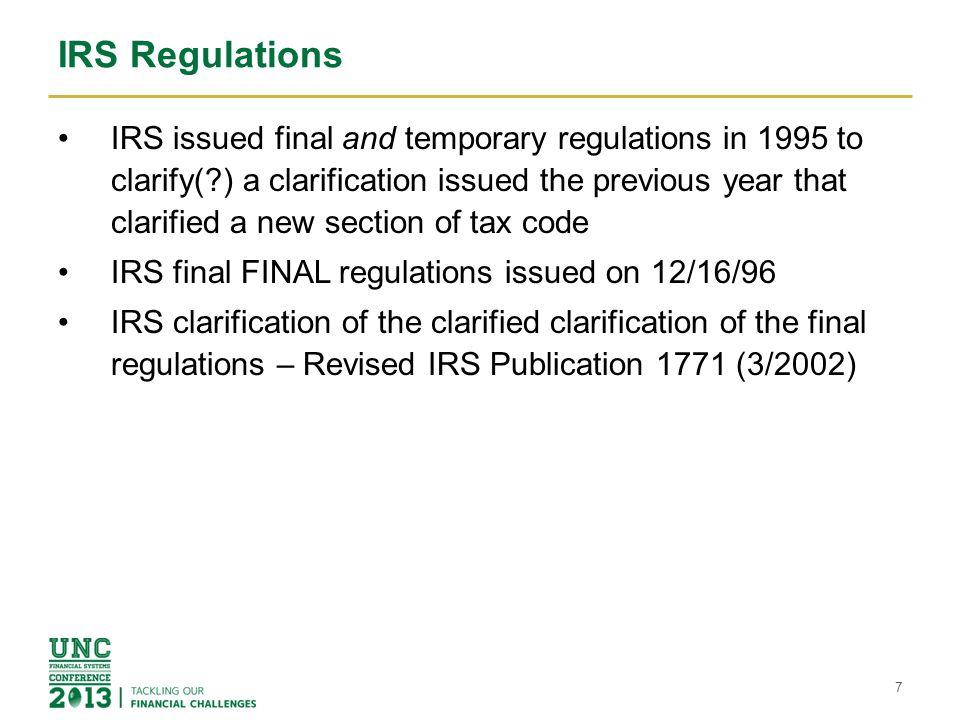 IRS Regulations