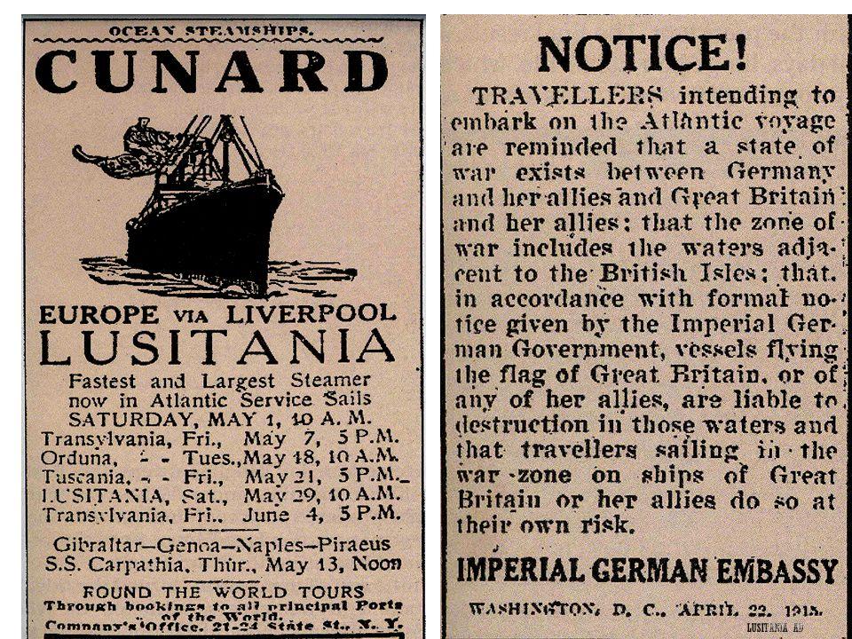 Lusitania ad