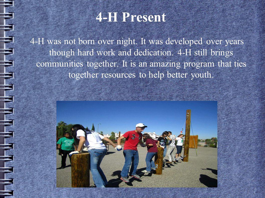 4-H Present