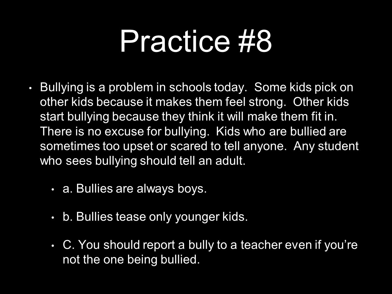 Practice #8