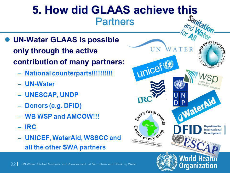 5. How did GLAAS achieve this Partners