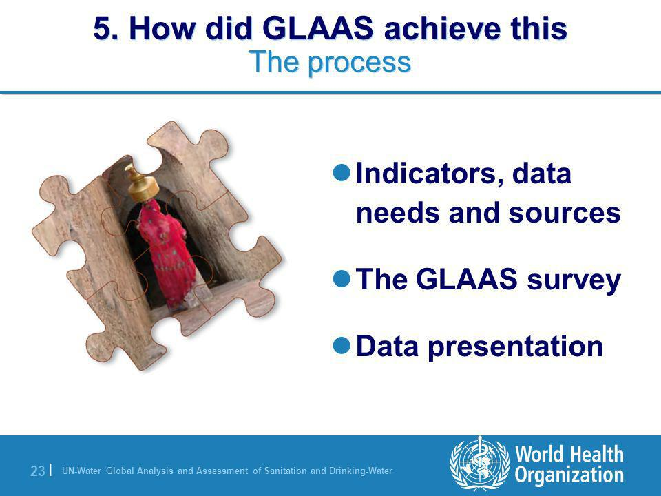 5. How did GLAAS achieve this The process