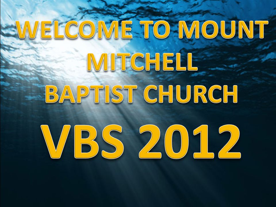 WELCOME TO MOUNT MITCHELL