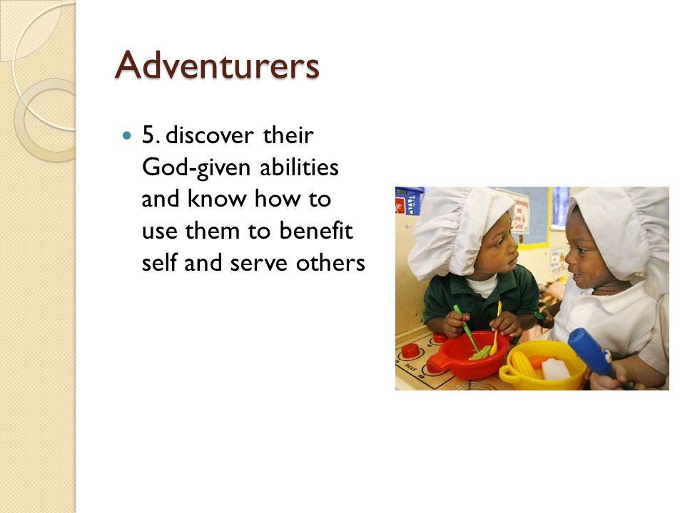 Adventurers 5.