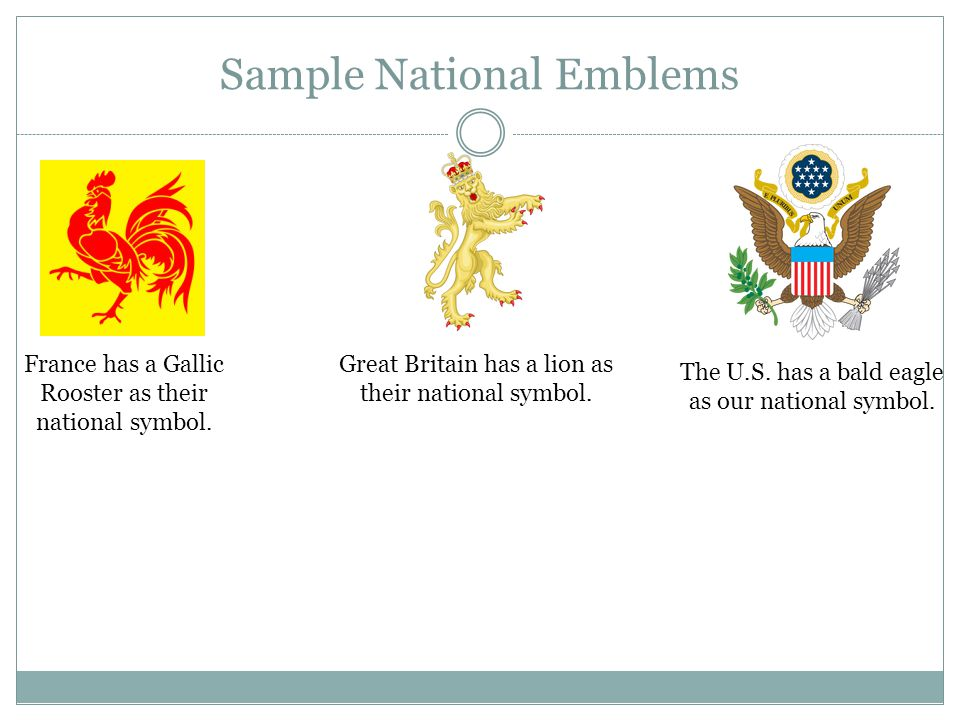 Sample National Emblems