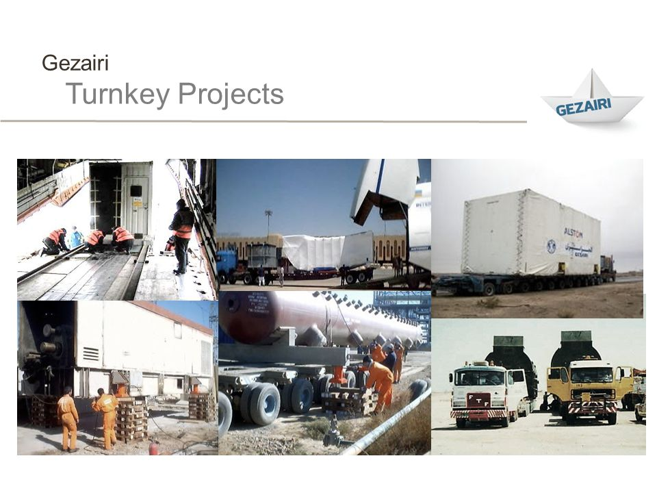 Gezairi Turnkey Projects