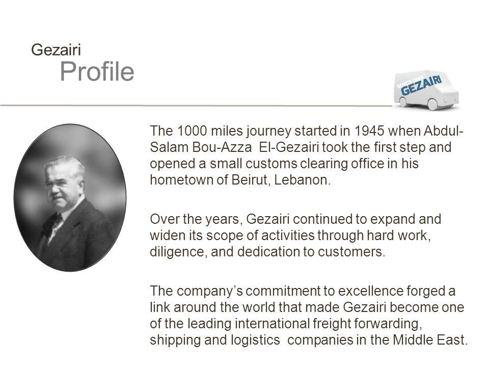 Gezairi Profile.
