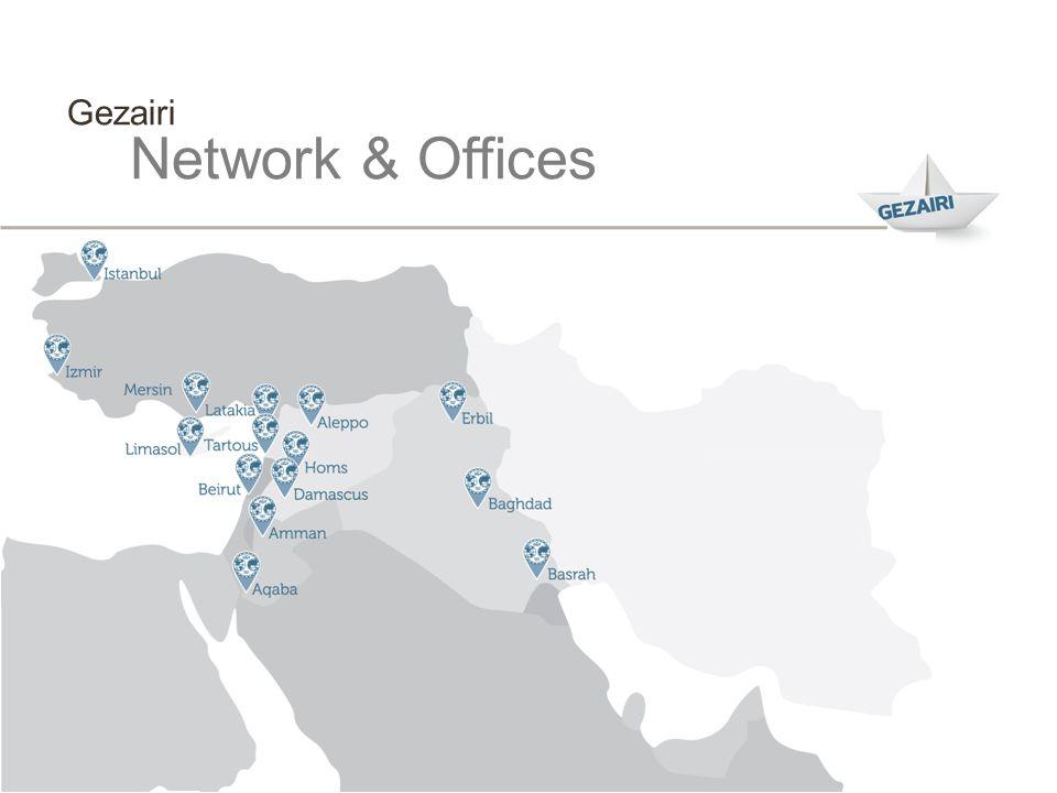 Gezairi Network & Offices