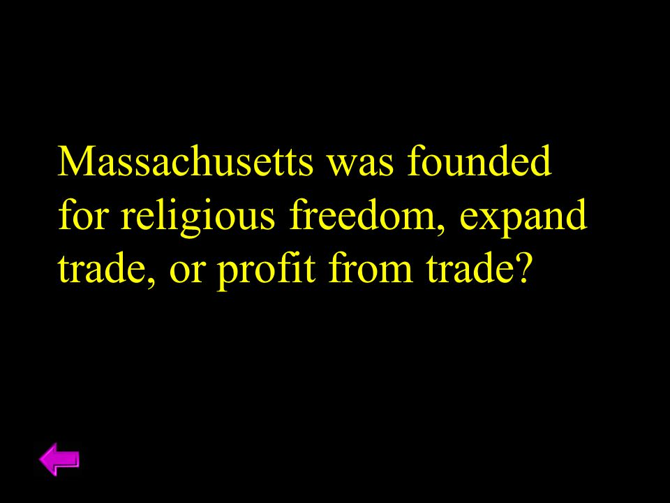 Massachusetts was founded