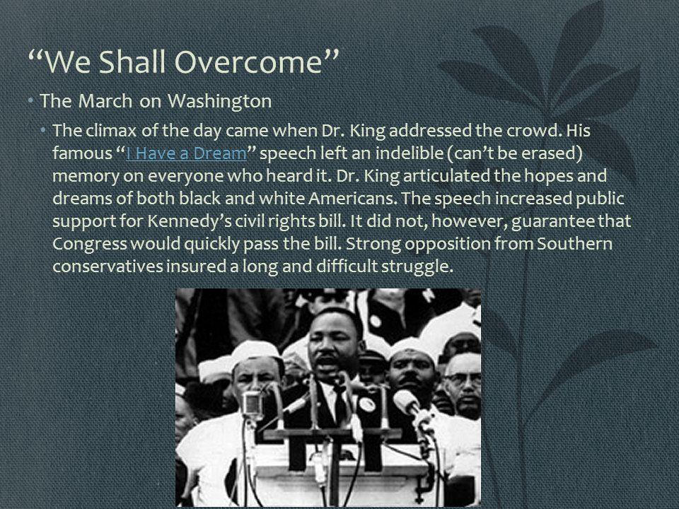 We Shall Overcome The March on Washington