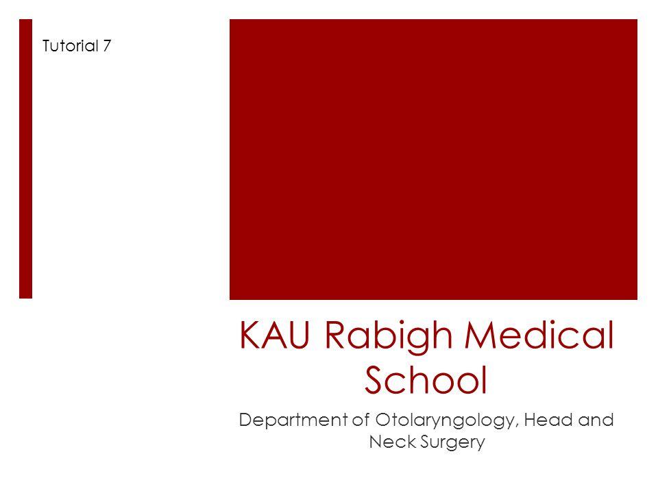 KAU Rabigh Medical School