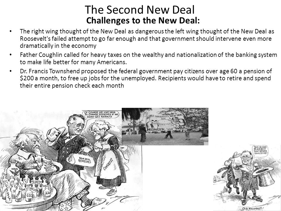 Challenges to the New Deal: