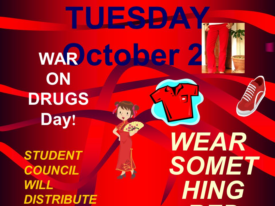 WEAR SOMETHING RED DAY!