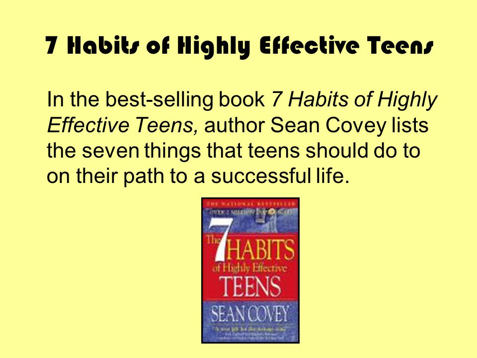 Listen to The 7 Habits of Highly Effective Teens
