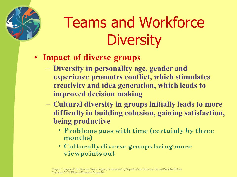 Teams and Workforce Diversity