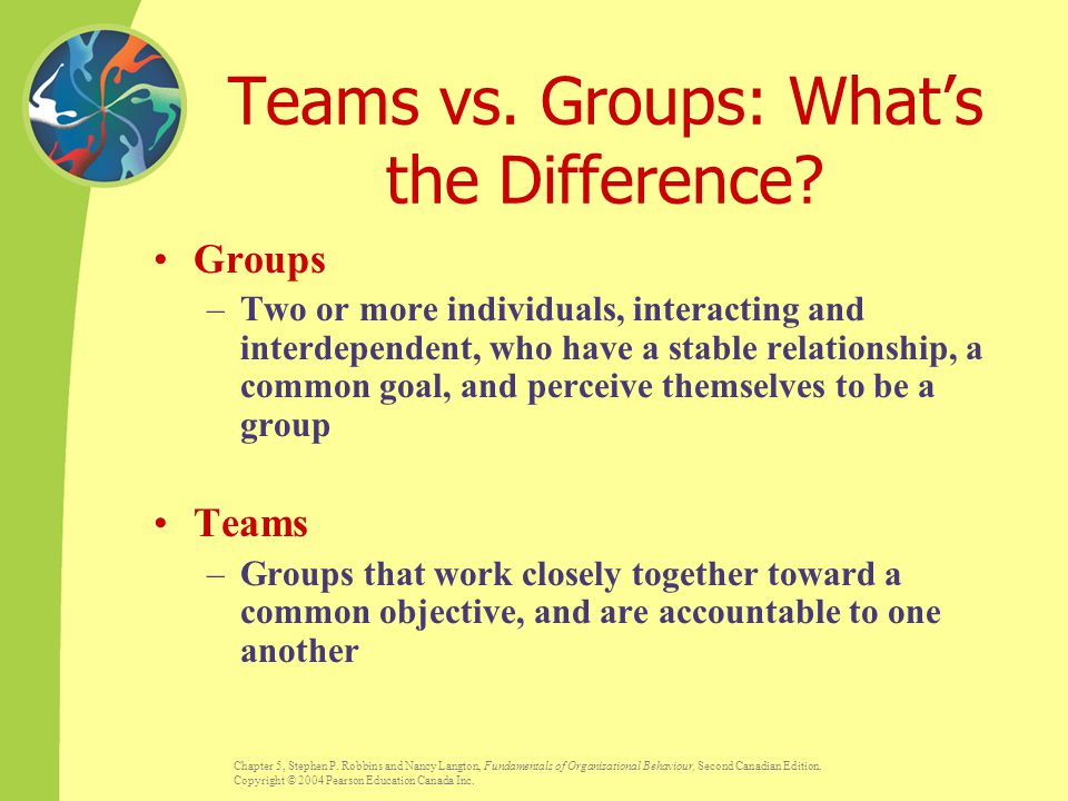 Teams vs. Groups: What's the Difference