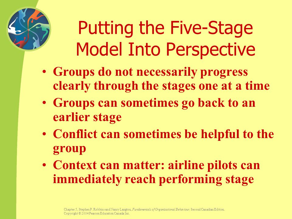 Putting the Five-Stage Model Into Perspective