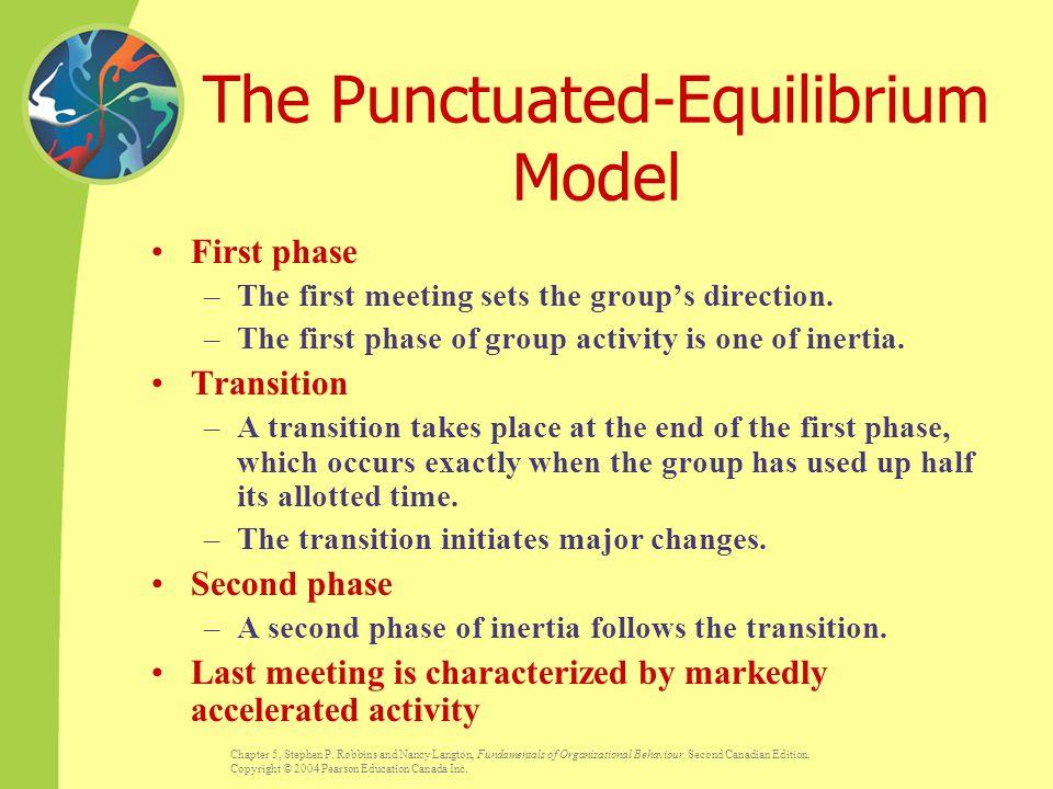 The Punctuated-Equilibrium Model