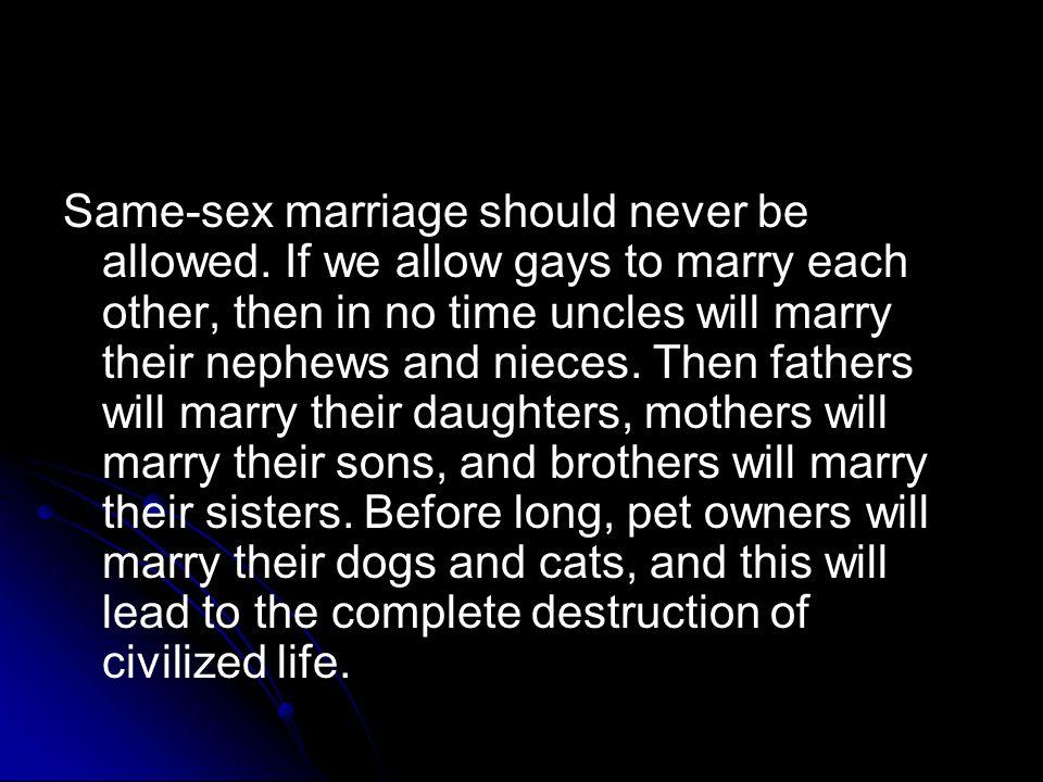 Same sex marriage ontario