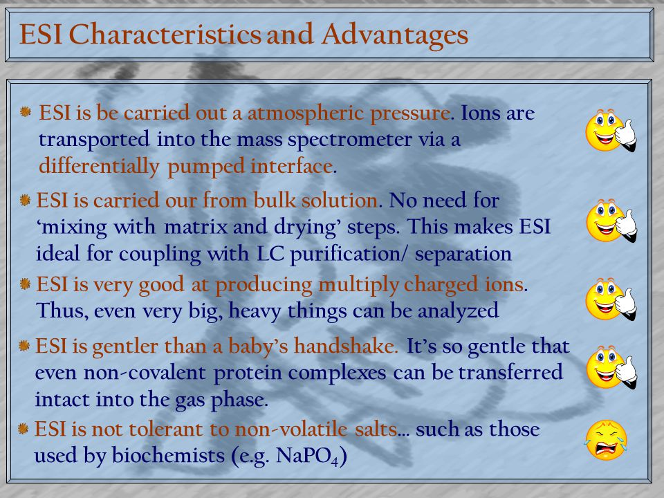 ESI Characteristics and Advantages