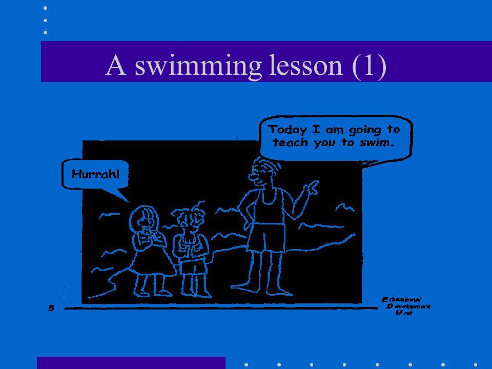 A swimming lesson (1)