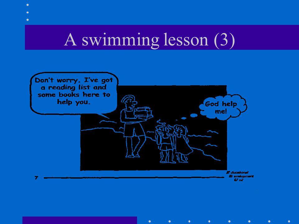 A swimming lesson (3)