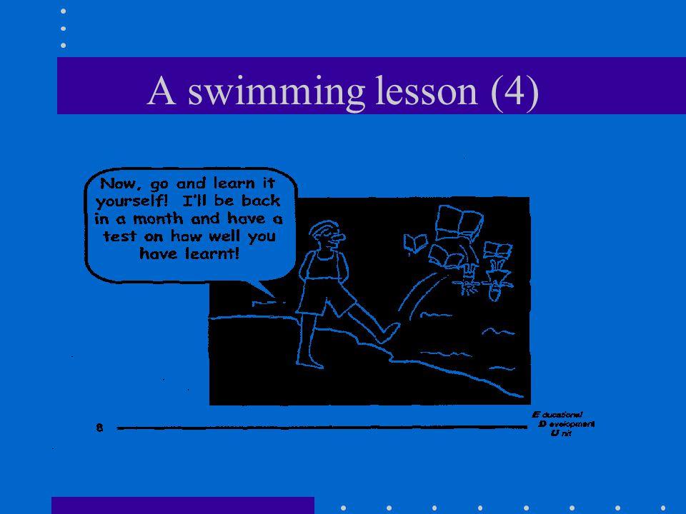 A swimming lesson (4)