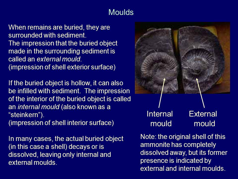Moulds Internal mould External mould
