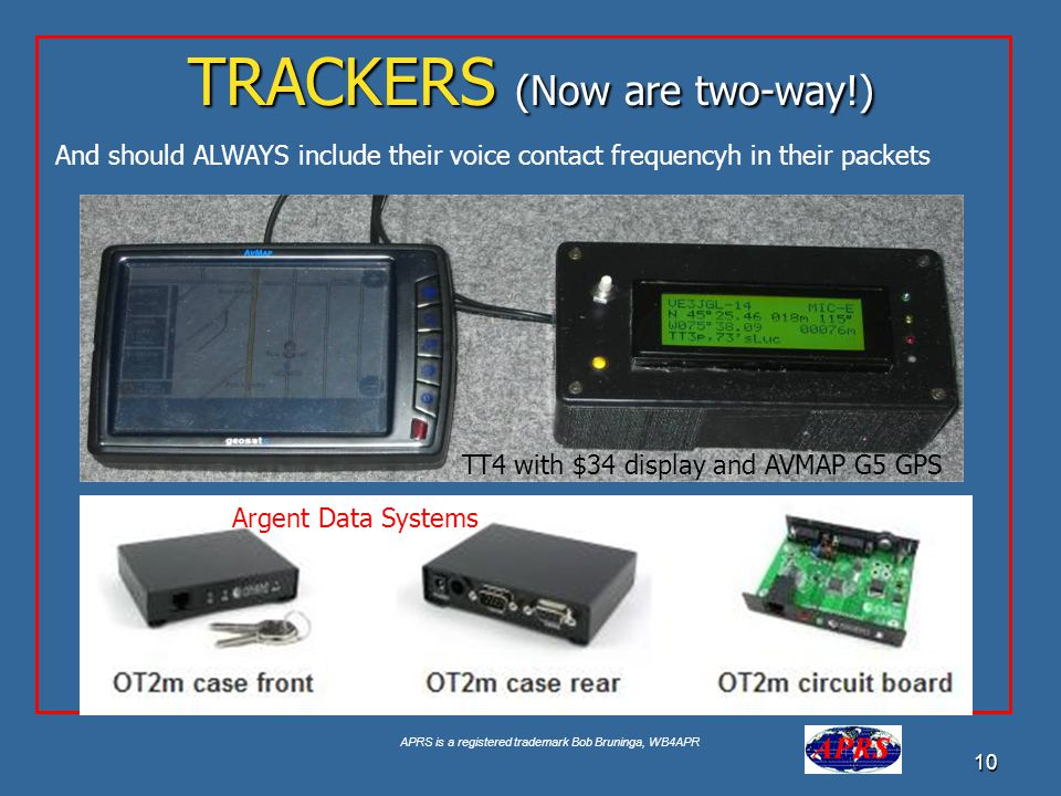 TRACKERS (Now are two-way!)