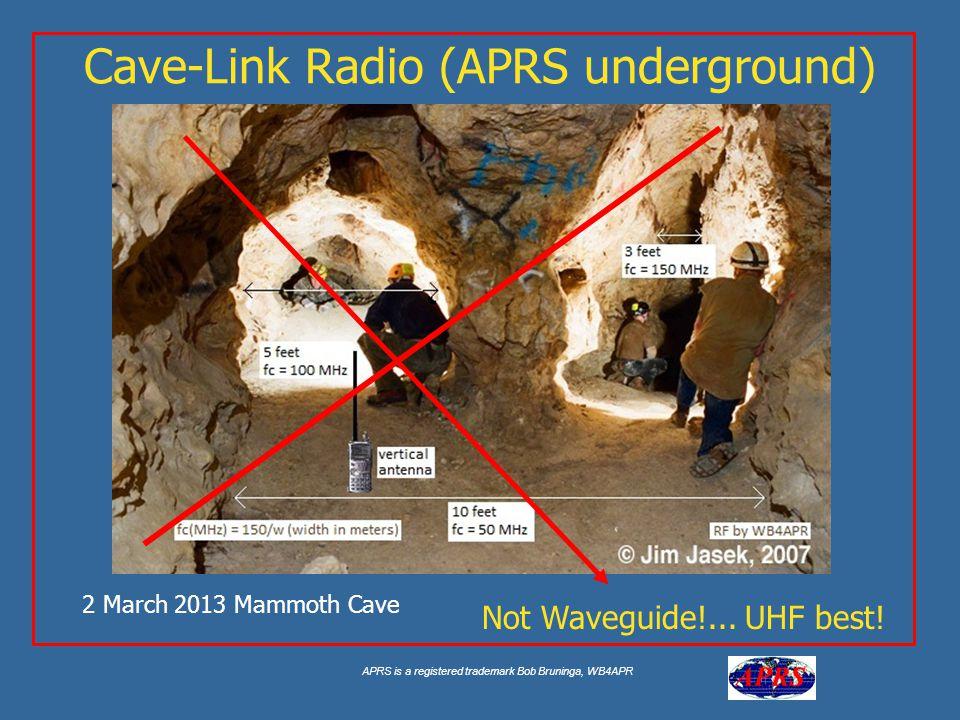 Cave-Link Radio (APRS underground)