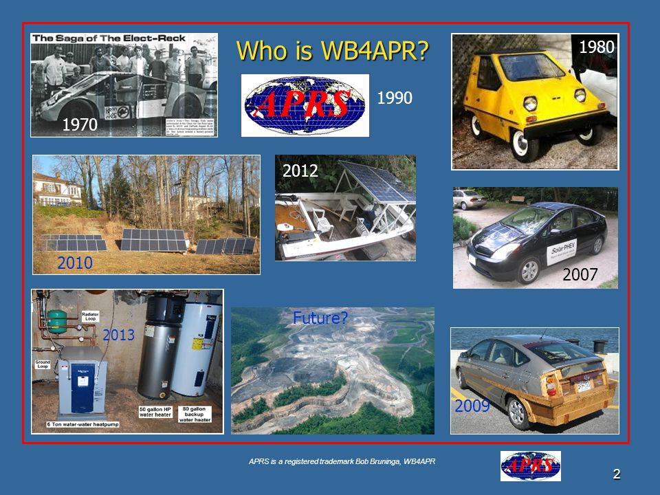 Who is WB4APR 1980 1990 1970 2012 2010 2007 Future 2013 2009