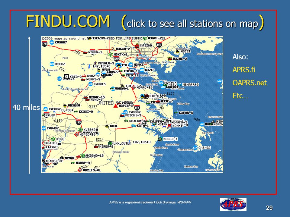 FINDU.COM (click to see all stations on map)