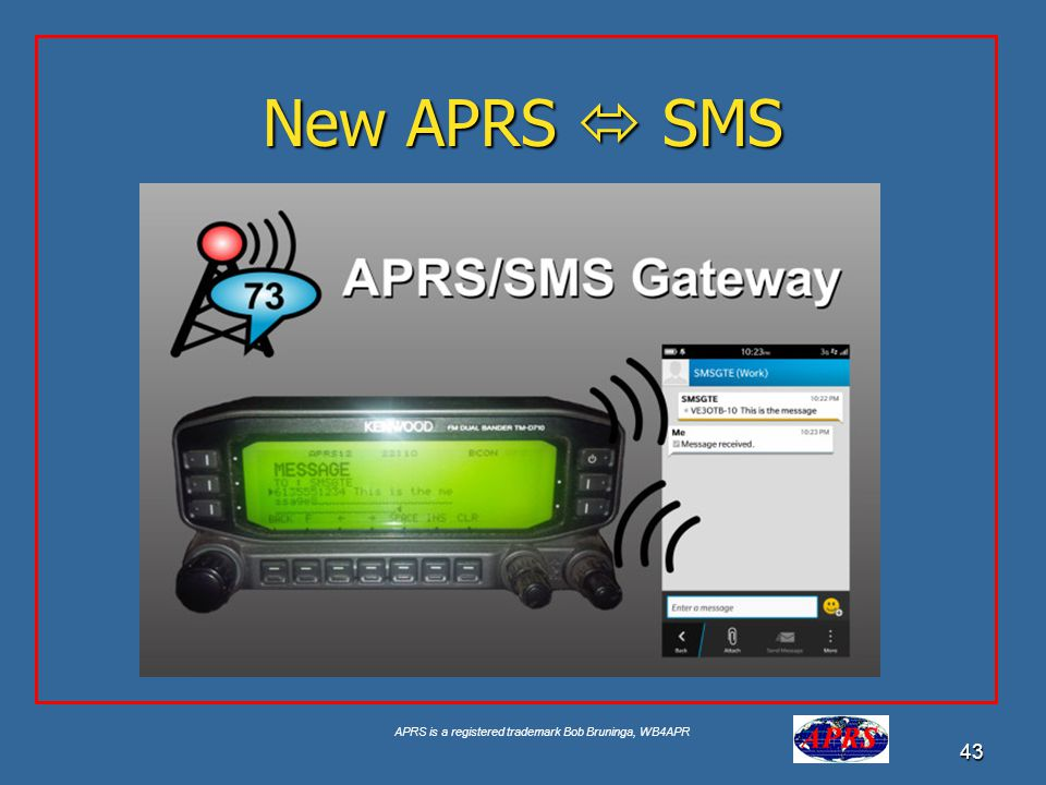 New APRS  SMS