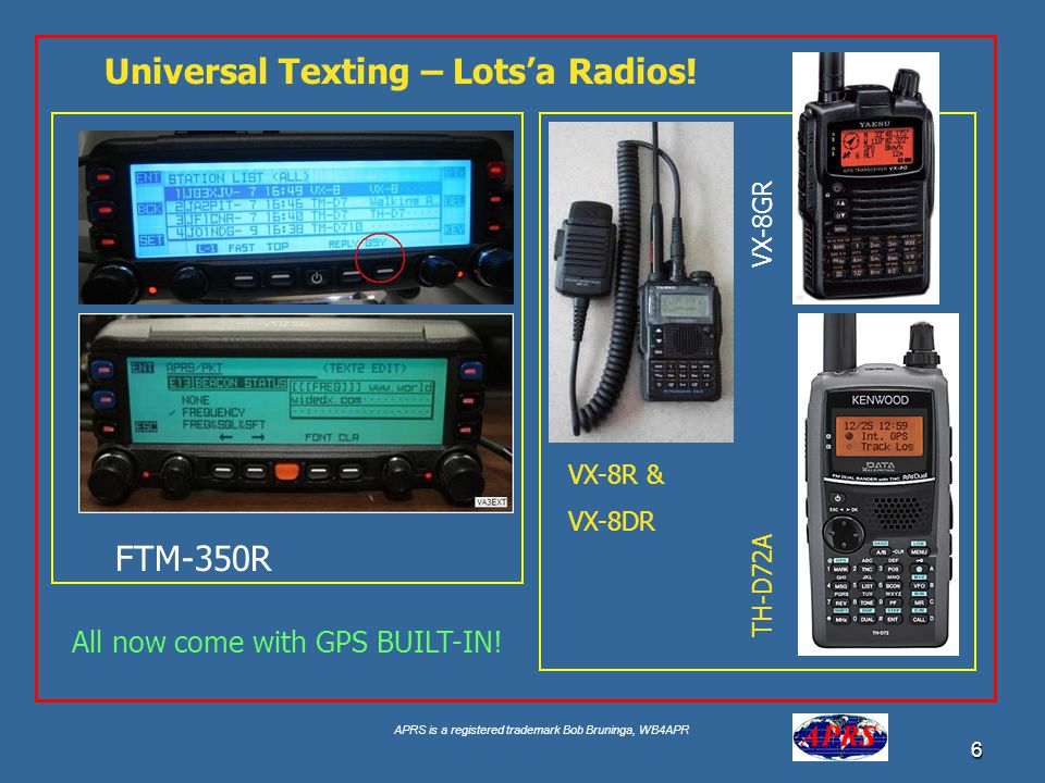 Universal Texting – Lots'a Radios!