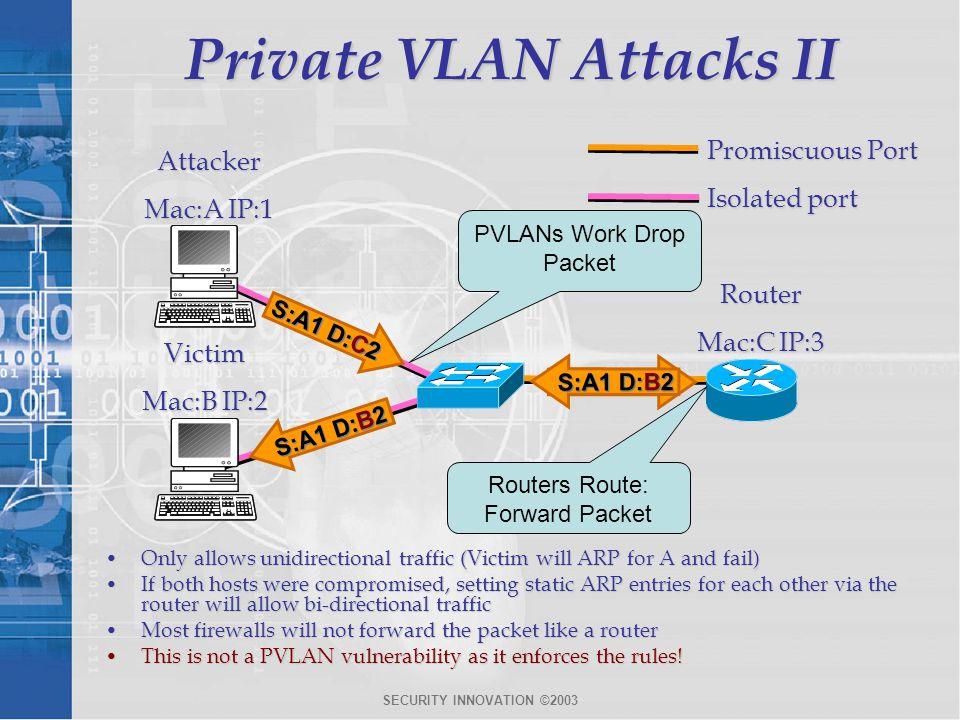 Private VLAN Attacks II