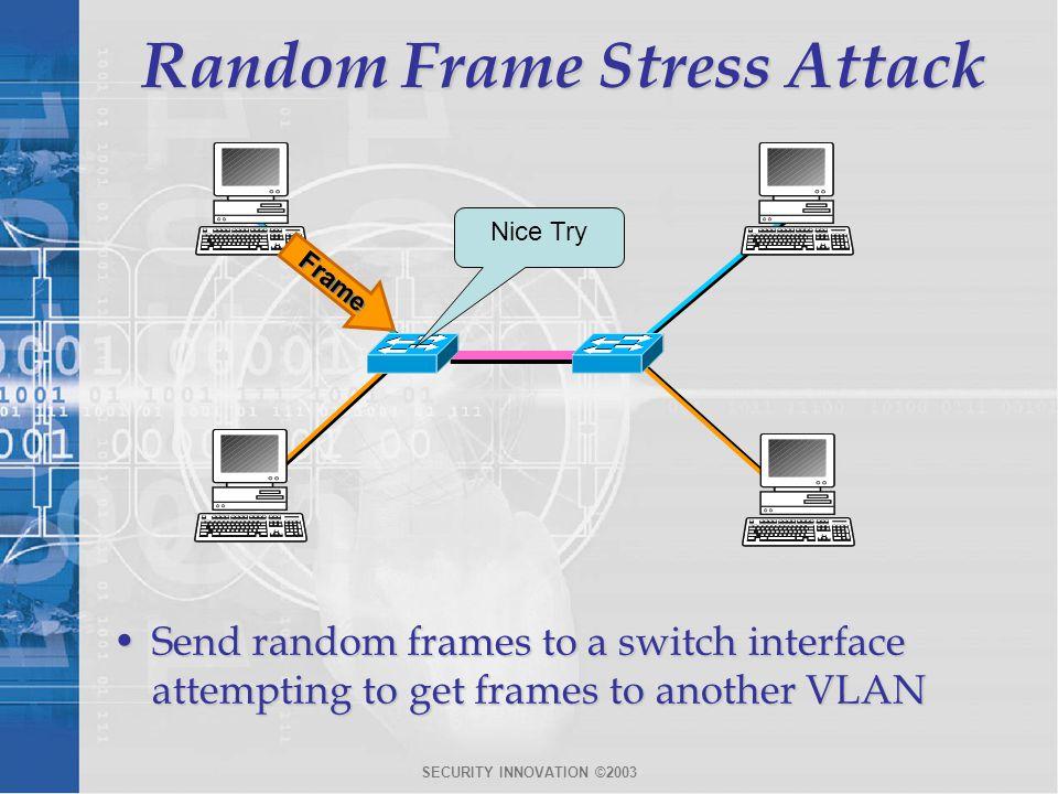 Random Frame Stress Attack
