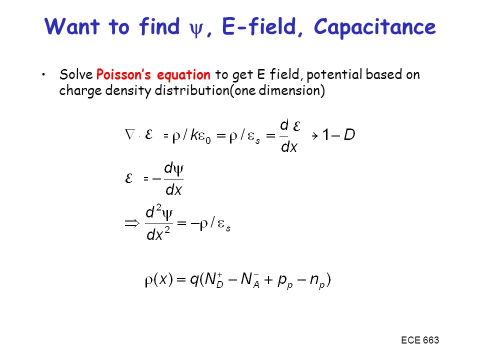 Want to find , E-field, Capacitance