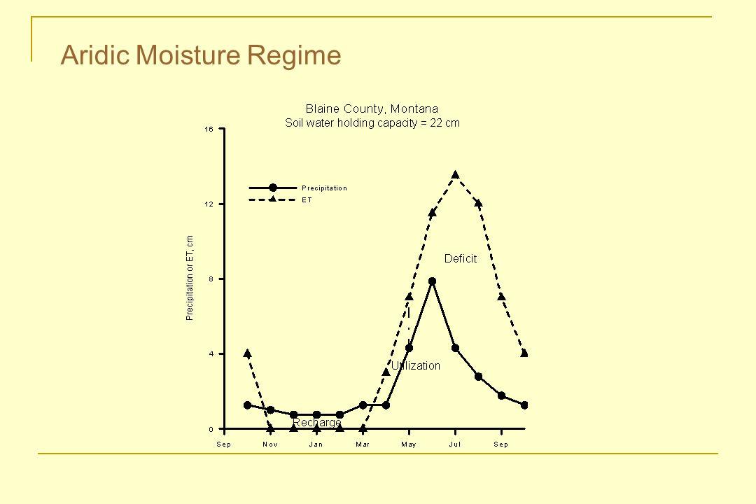 Aridic Moisture Regime