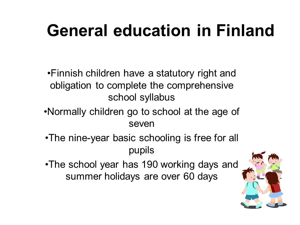 General education in Finland