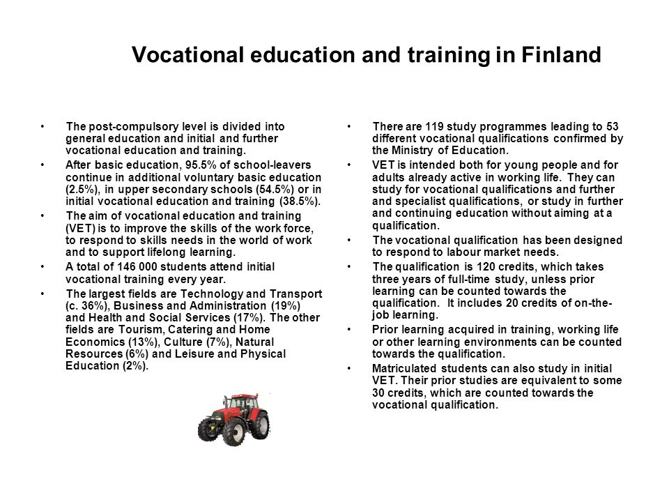 Vocational education and training in Finland