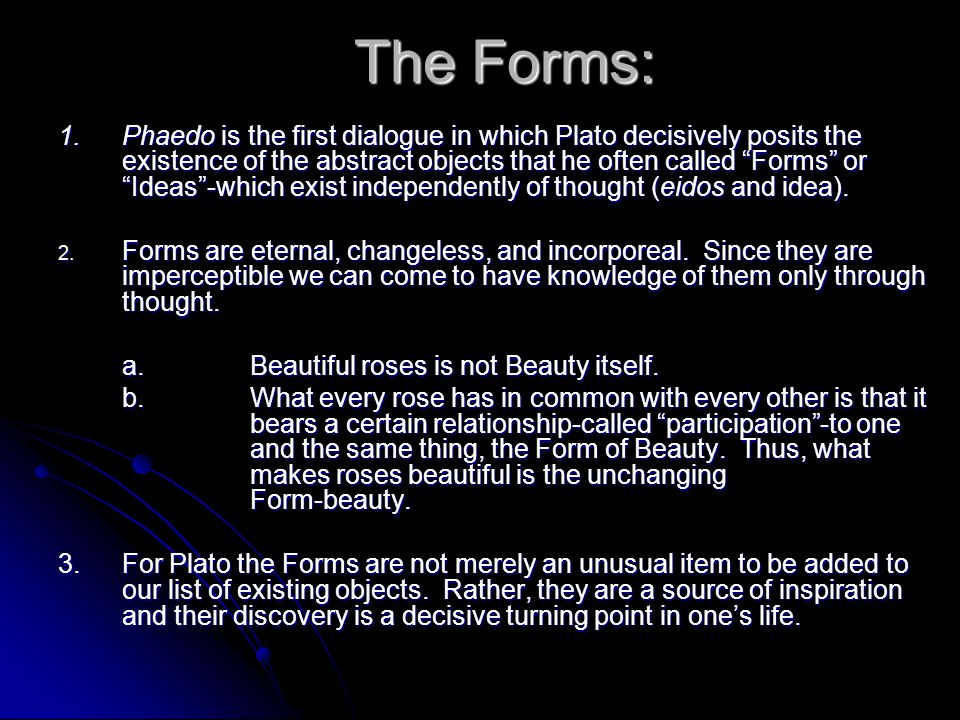 The Forms: