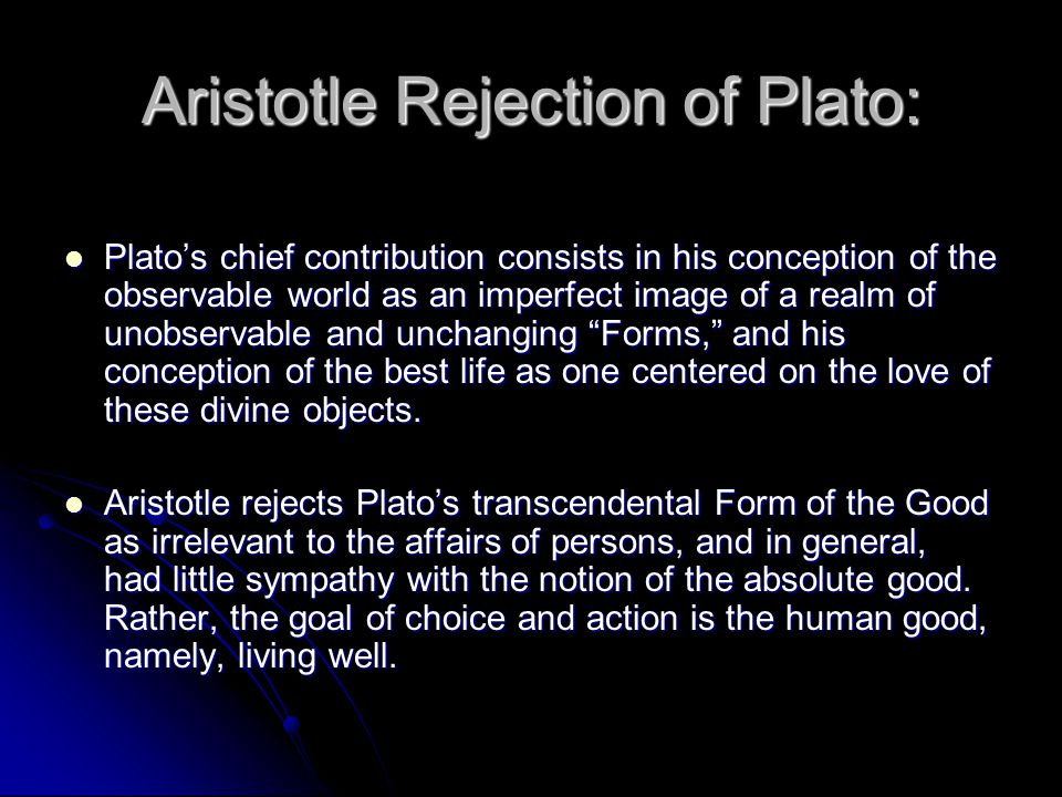 What Were Plato's Main Contributions to Philosophy?