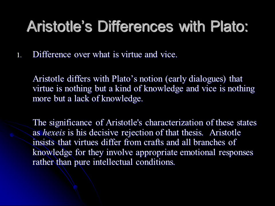 the views of plato regarding knowledge