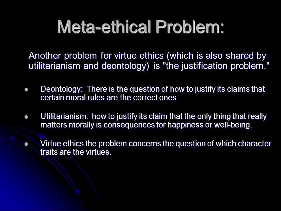 Meta-ethical Problem: