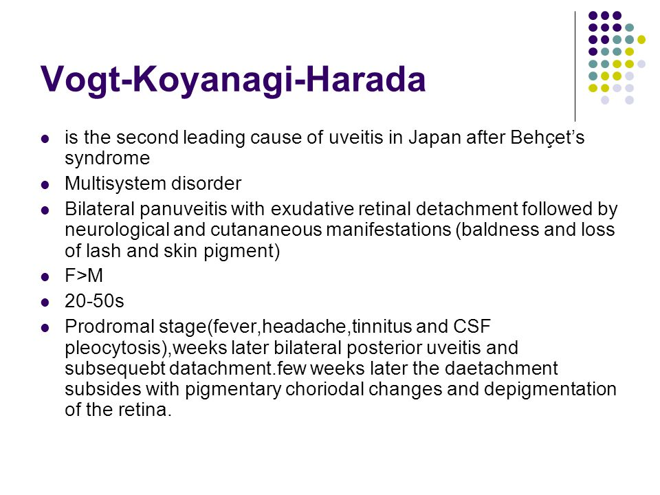 Vogt-Koyanagi-Harada