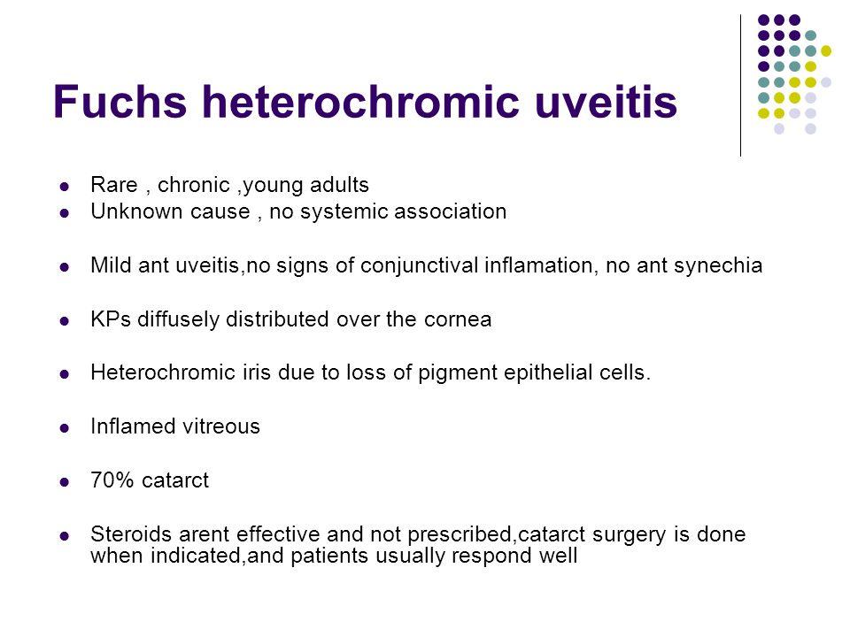 Fuchs heterochromic uveitis