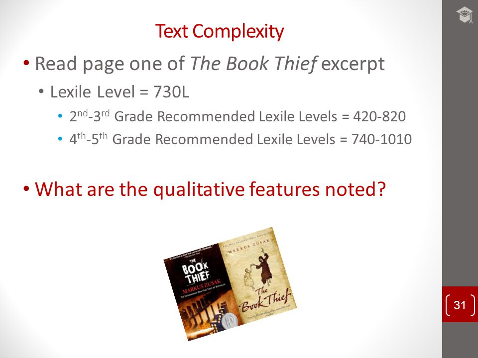 Read page one of The Book Thief excerpt